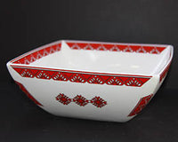 Large Square Serving Bowl  9.25x9.25x3.75 in.