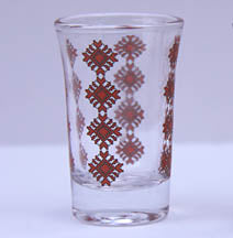 SHOT GLASS with Embroidery