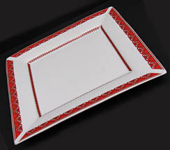 Square Platter 12x12x1.25 in.
