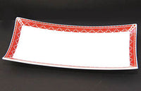 RECTANGULAR SCOOP PLATTER 10.5x5.25 in.