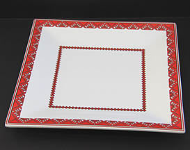 8 in. Square Plate