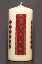 PILLAR CANDLE 6 in.