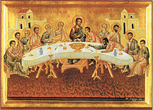 Last Supper Icon, 8x10 inches