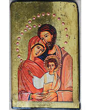Holy Family - Icon 3 x 4.5 in
