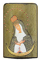 Ostrobramska Virgin - Icon 3 x 4.5 in