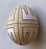 Ancient Design Etched Pysanka