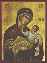 Virgin Mary Great Grace Icon