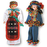 Ukrainian Folk Dolls - Box Set of 2