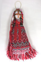 Red-Black Motanka Doll 9 in.