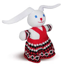 Knitted Rabbit Toy