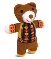 Knitted Bear Toy