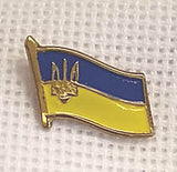 Ukraine Flag Pin