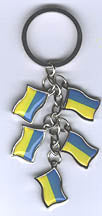Charm Keychain - Flags