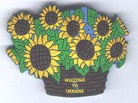 Sunflower Magnet - PVC
