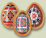 Set of 3 Pysanka Magnets