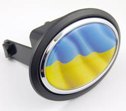 Ukrainian Flag Hitch Cover