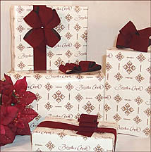 Ukrainian Christmas Gift Wrap 12x12 in