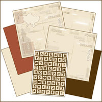 Ukrainian Heritage Scrapbooking Kit