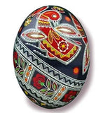Birds & Poppies Pysanka