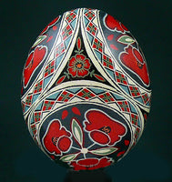 Poppy Trio - Chicken Pysanka