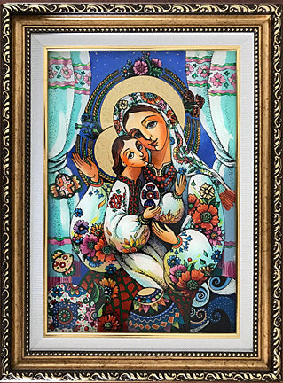 Icon with Pysanky