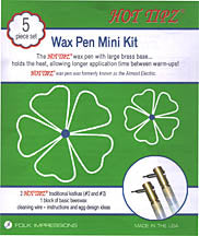 Hot Tipz Wax Kistka Mini Kit - 5pcs