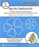 Hot Tipz-Wax Kistka Traditional Kit - 6 pcs.