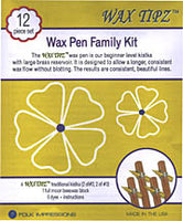 Wax Tipz - Wax Pen Family Kit-12 pcs.