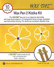 Wax Tipz - Wax Pen 2 Kistka Kit-10 pcs.