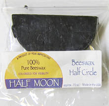 Half Moon Wax .8 oz refined
