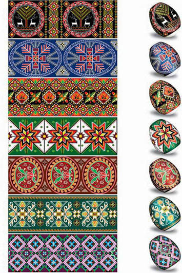 Traditional Ukrainian Design Egg Sleeves