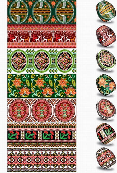 Ukrainian Design Egg Sleeve