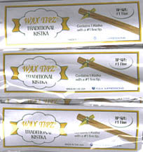 Wax Tipz Traditional Kistka -  10 Pack FINE