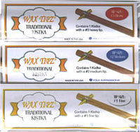 Wax Tipz Traditional Kistka - 3 pack
