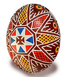 Ancient Bukovynian Design Star Pysanka