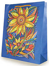 Sunflower Gift Bag, 12.5 x 17.5