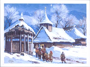 Christmas Card - Kosivska Poliana