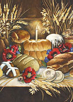 Our Daily Bread - Greeting Card