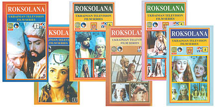 Roksolana Set Volumes 1-6 (DVD)