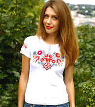 Lisova Pisnia Short Sleeve Red/White Tshirt