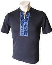 Hajdamatska Blue Embroidered T