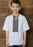 Boys Short Sleeve Embroidered T