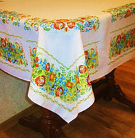 Petrykivka Tablecloth