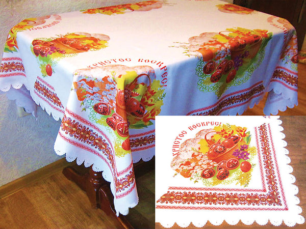 Easter Design Tablecloth
