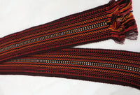 Woven Burgundy/Red Belt, Adult