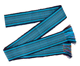 Handwoven Belt - Blue, Adult