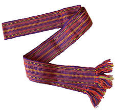 Handwoven Belt - Red, Child