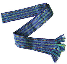 Handwoven Belt - Blue, Child