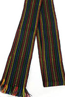 Woven Dark Multicolor Belt - Adult size