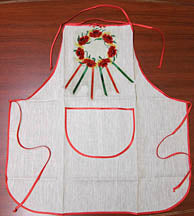 Poppies Vinok Apron